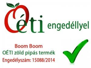 Boom boom potencianövelő OÉTI engedéllyel