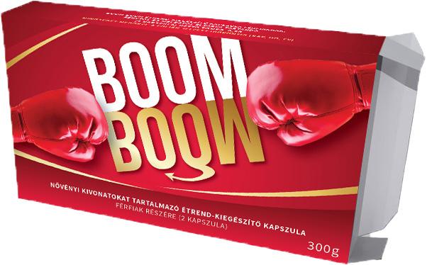 Boom Boom természetes, prémium potencianövelő készítmény