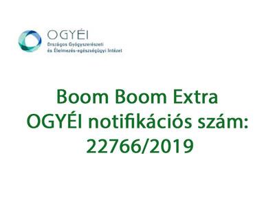 Boom Boom Extra engedély